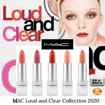 MAC☆2020 MAC Loud and Clear Collection リップスティック 5種