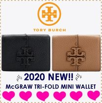TORY BURCH MCGRAW TRI-FOLD MINI WALLET 61970