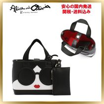 人気◆Alice+Olivia◆Ashley Stacey Face トート 関税送料込