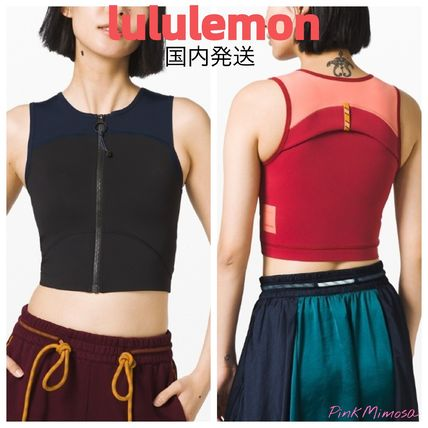 国内発送/lululemon/Face Forward Crop トップス
