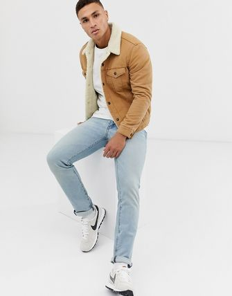 Levi's トップスその他 Levi's type 3 borg lined canvas trucker jacket in desert b(4)
