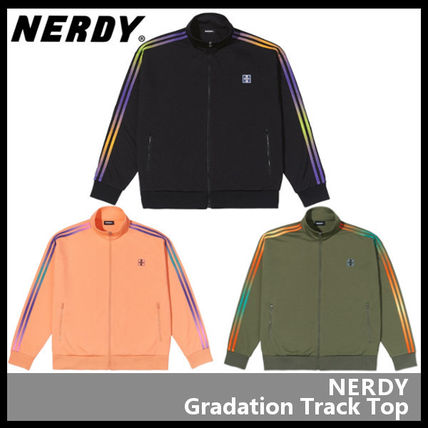 NERDY アウターその他 【NERDY】Gradation Track Top