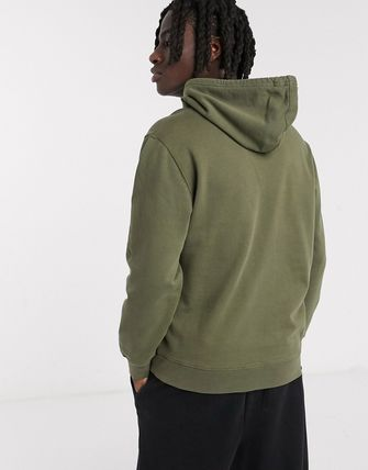 Levi's トップスその他 Levi's Youth 2-horse logo utility hoodie in olive night gr(2)