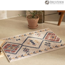 DECO VIEW(デコヴュー)★Helios Ethnic Soft Foot Mat-65 X 45