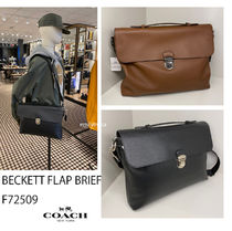 2月新作 COACH★メンズ BECKETT FLAP BRIEF F72509