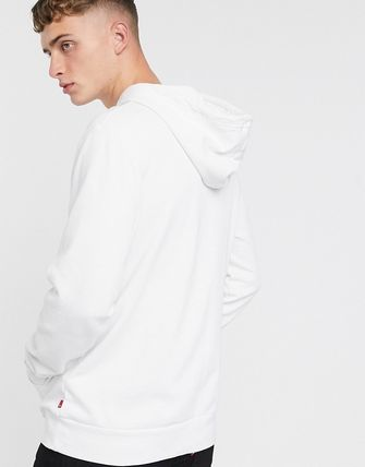 Levi's トップスその他 Levi's chest red lazyytab logo relaxed fit hoodie in white(2)