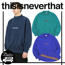 thisisneverthat 2TONE LOGO PULLOVER MH1117 追跡付
