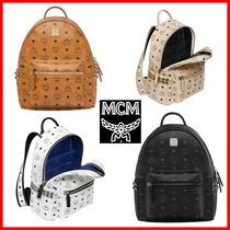 MCM☆正規品 STARK SIDE STUDS VISETOS バックパック32cm/12.5in