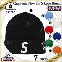 17AW/Supreme New Era S Logo Beanie ニューエラ Sロゴ ニット帽