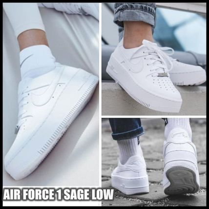 Nike スニーカー NIKE☆AIR FORCE 1 SAGE LOW AR5339