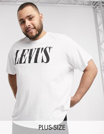Levi's トップスその他 Levi's Big & Tall serif logo t-shirt in white