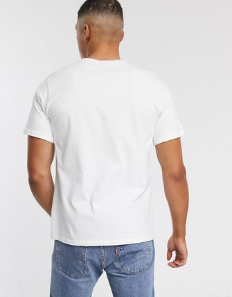 Levi's トップスその他 Levi's relaxed fit 90's serif logo t-shirt in white(2)