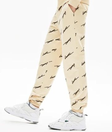 LACOSTE セットアップ 新作☆ Lacoste LIVE ロゴ スクリプト 上下 セットアップ(5)