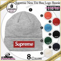 18FW /Supreme New Era Box Logo Beanie ボックス ロゴ ビーニー
