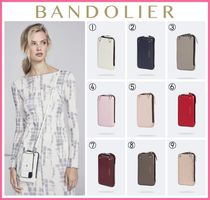 セレブ愛用!! ☆Bandolier☆ Pebble Leather Expanded Zip Pouch