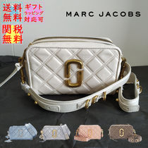 日本未入荷カラー MARC JACOBS THE QUILTED SOFTSHOT 21 キルト