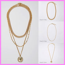 【Hei】big coin 3 set chain necklace〜3連ネックレス