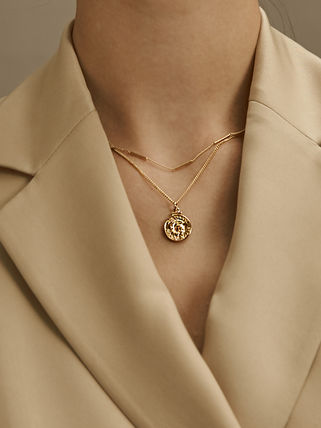Hei ネックレス・ペンダント 【Hei】victory coin necklace〜ヴィクトリーコインネックレス(4)