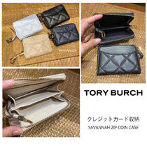 2月新作 TORY BURCH★SAVANNAH ZIP COIN CASE キーリング付き
