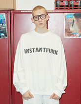 [ INSTANTFUNK ] Pigment Dyeing MTM Sweat Shirt (White)