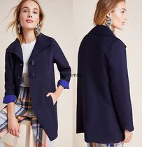 セール! Anthropologieオリジナル! Wellesley Pleated Peacoat