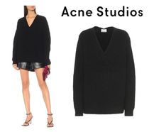 [関税・送料込] Acne Studios☆Ribbed-knit wool sweater