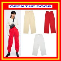 [OPEN THE DOOR]  cutting color jeans ◆全3色◆woman◆ 追跡付