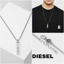 UK発★DIESEL 20SS新作 'シングルペンダント/ネックレス'