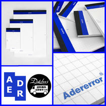ADERERROR(アーダーエラー) ノート Adererror Blue note A2 MH1139 追跡付