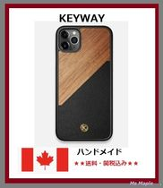 大人気!【カナダ発】★KEYWAY★ Iphoneケース Walnut Rift