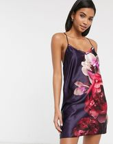 Ted Baker Splendour floral chemise in purple