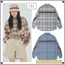 日本未入荷ROMANTIC CROWNのBACK LINE CHECK SHIRT 全3色