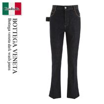 Bottega veneta dark wash jeans