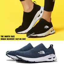 THE NORTH FACE★URBAN RECOVERY SLIP-ON KNIT★ロゴ★2色