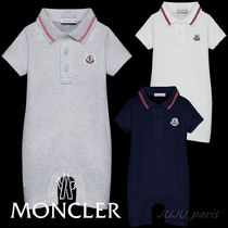 Moncler★2020SS★BABY★ロゴワッペンロンパース★1~24M