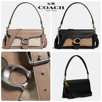 COACH Tabby Shoulder Bag 26 With Signature Canvas サッチェル