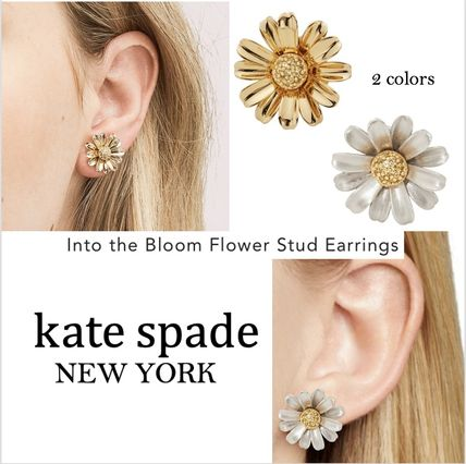 kate spade new york ピアス 【国内発送】into the bloom studsセール