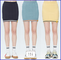 ROMANTIC CROWN★WOMAN★CABLE KNIT SKIRT_3色