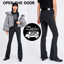 OPEN THE DOOR real boots-cut pants (2 color) SW428 追跡付