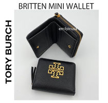 即発 TORY BURCH★BRITTEN MINI WALLET 折り財布