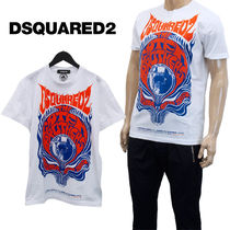 DSQUARED2 Tシャツ Retro Caten Brothers  GD0649-S22427-100