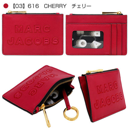 MARC JACOBS パスケース 【即発】MARC JACOBS パスケース M0015753 キーリング ロゴ(4)
