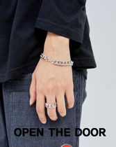 OPEN THE DOOR glossy chain bracelet (2 color)