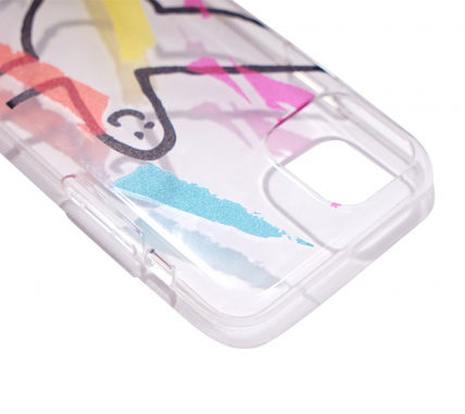 Mark Gonzales スマホケース・テックアクセサリー ◇Mark Gonzales◇PAINTING PHONE CASE CLEAR◇(5)