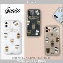 [国内発送]*SONIX*coffee*iPhone11/11Pro/11ProMaxクリアケース