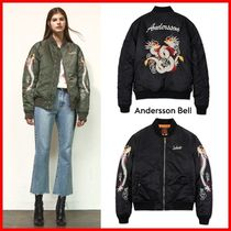 ANDERSSON BELL(アンダースンベル) ブルゾン ★ANDERSSON BELL★SOUVENIR DRAGON BOMBER☆正規品・男女OK!☆