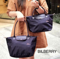 完売カラー【BILBERRY*645】Longchamp*LE PLIAGE CLUB*手提げS
