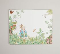 Pottery Barn★Peter RabbitガーデンコルクPlacemat、4個セット