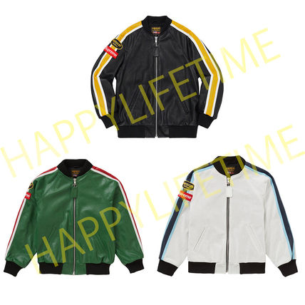 Supreme レザージャケット ◆WEEK1◆SUPREME20SSVANSON LEATHERS PERFORATED BOMBER JACKET(2)