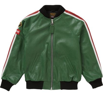Supreme レザージャケット ◆WEEK1◆SUPREME20SSVANSON LEATHERS PERFORATED BOMBER JACKET(3)